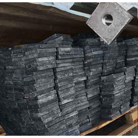 Анкерные плиты под болт тип 2.1 ГОСТ 24379.1-80