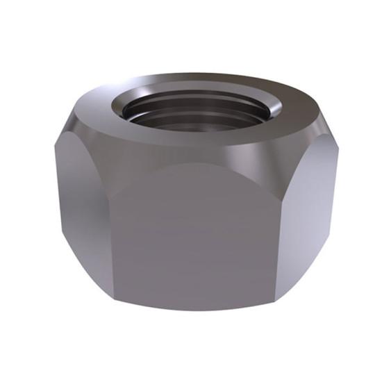 ISO 10512 Гайка шестигранная с нейлоновым кольцом