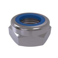 ISO 10511 Гайка самоконтрящаяся со стопорным кольцом