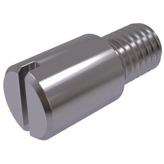 DIN 927 Винт с цилиндрической цапфой и прямым шлицем