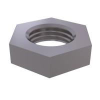 Гайка шестигранная низкая с мелким шагом резьбы DIN 439