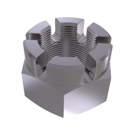 ГОСТ 5932-73 Гайка шестигранная корончатая