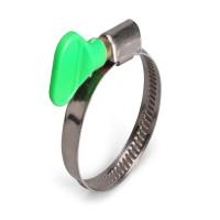 Червячные хомуты с ключом (оцинкованная сталь)