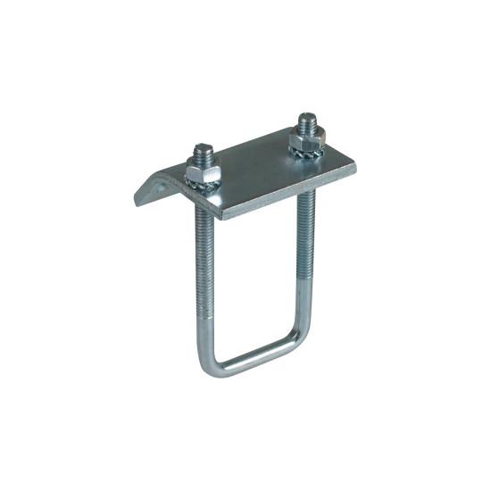 BIS RapidRail Балочные зажимы монтаж между стенками стальных конструкций