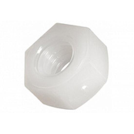 DIN 439 Гайка полиамидная шестигранная низкая с фаской