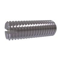 ISO 4766 Винт установочный с прямым шлицем и плоским концом